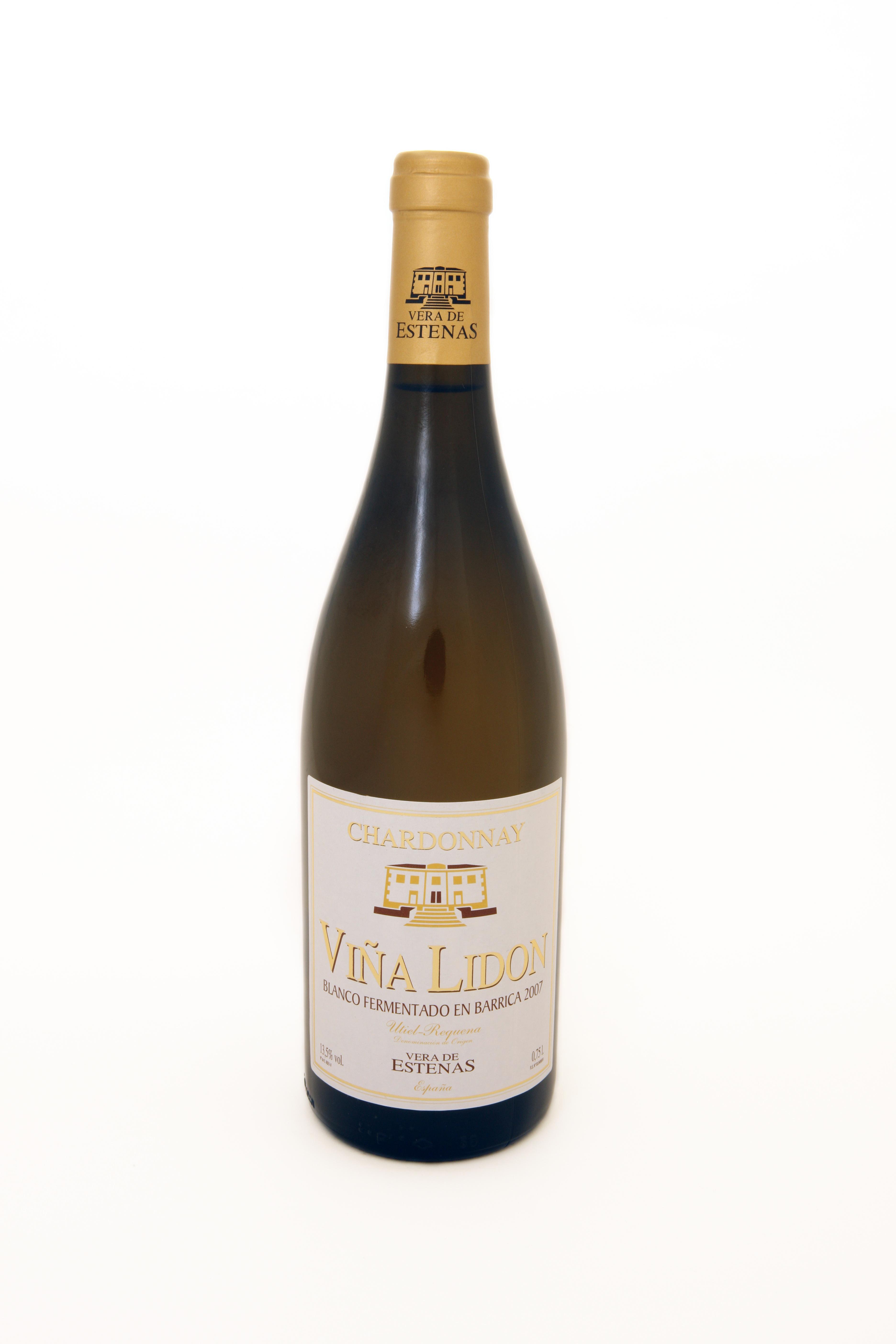 Blanco Chardonnay Viña Lidón de Vera de Estenas FUENTE: veradeestenas.es