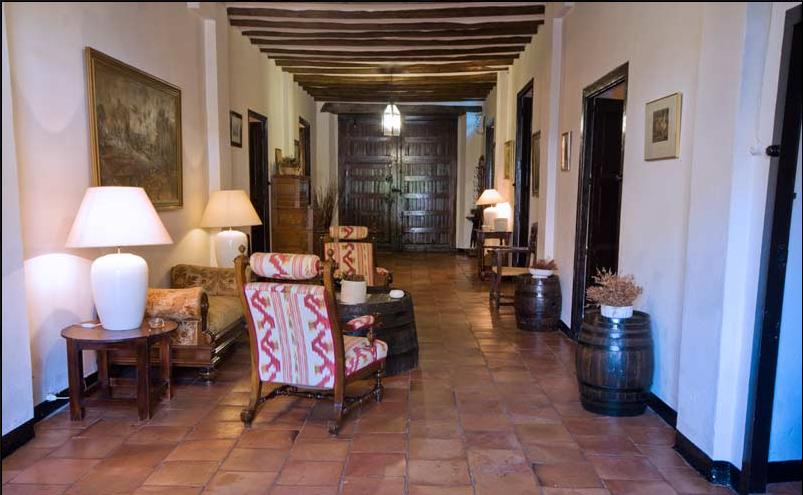 Interior de la Finca Hoya de Cadenas FUENTE: hoyadecadenas.es