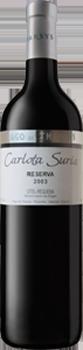 Vino tinto Carlota Suria Reserva FUENTE: pagodetharsys.com
