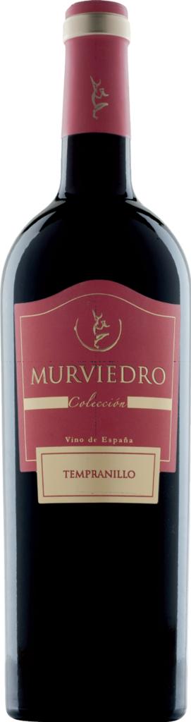 FOTO Vino tinto joven Colección de Murviedro FUENTE: murviedro.es