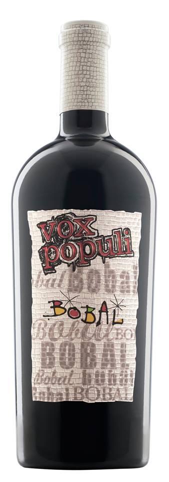 Vino tinto Vox Populi 100% Bobal FUENTE: murviedro.es