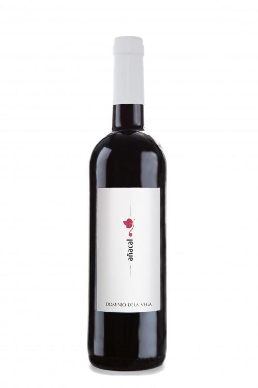 FOTO Añacal 2013, un vino tinto joven 100% Bobal de Dominio de la Vega FUENTE: dominiodelavega.com