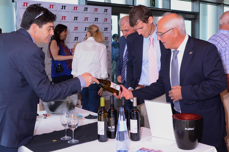 La promoción y difusión de los vinos de la DO Utiel-Requena ha sido una constante en 2014 FUENTE: utielrequena-org