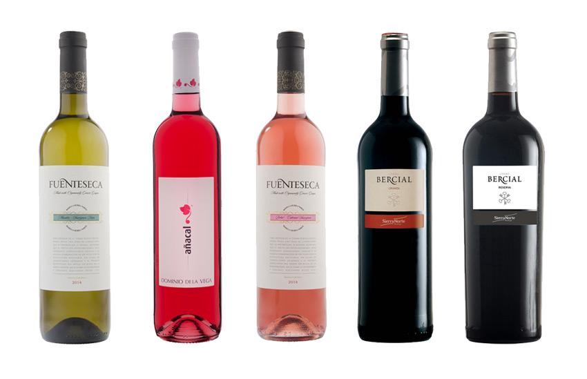 Los cinco vinos representativos de la Denominación de Origen FUENTE: utielrequena.org
