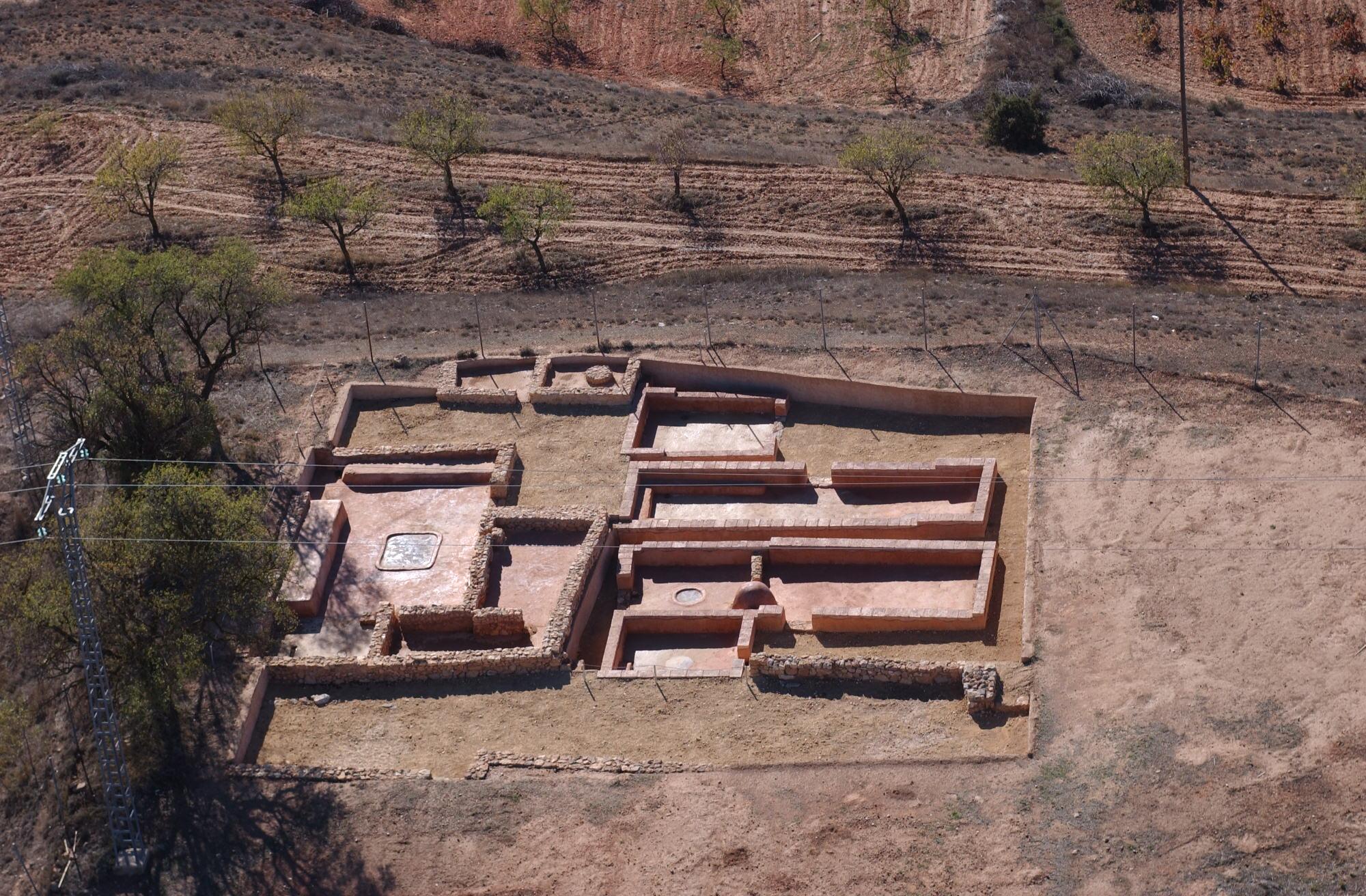 Imagen del Yacimiento de Los Villares en Caudete de las Fuentes, identificado como la antigua ciudad ibérica de Kelin FUENTE: utielrequena.org