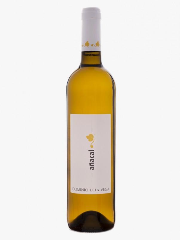 Vino afrutado blanco Añacal 2014 con aromas a manzana verde y pera limonera FUENTE: dominiodelavega.com