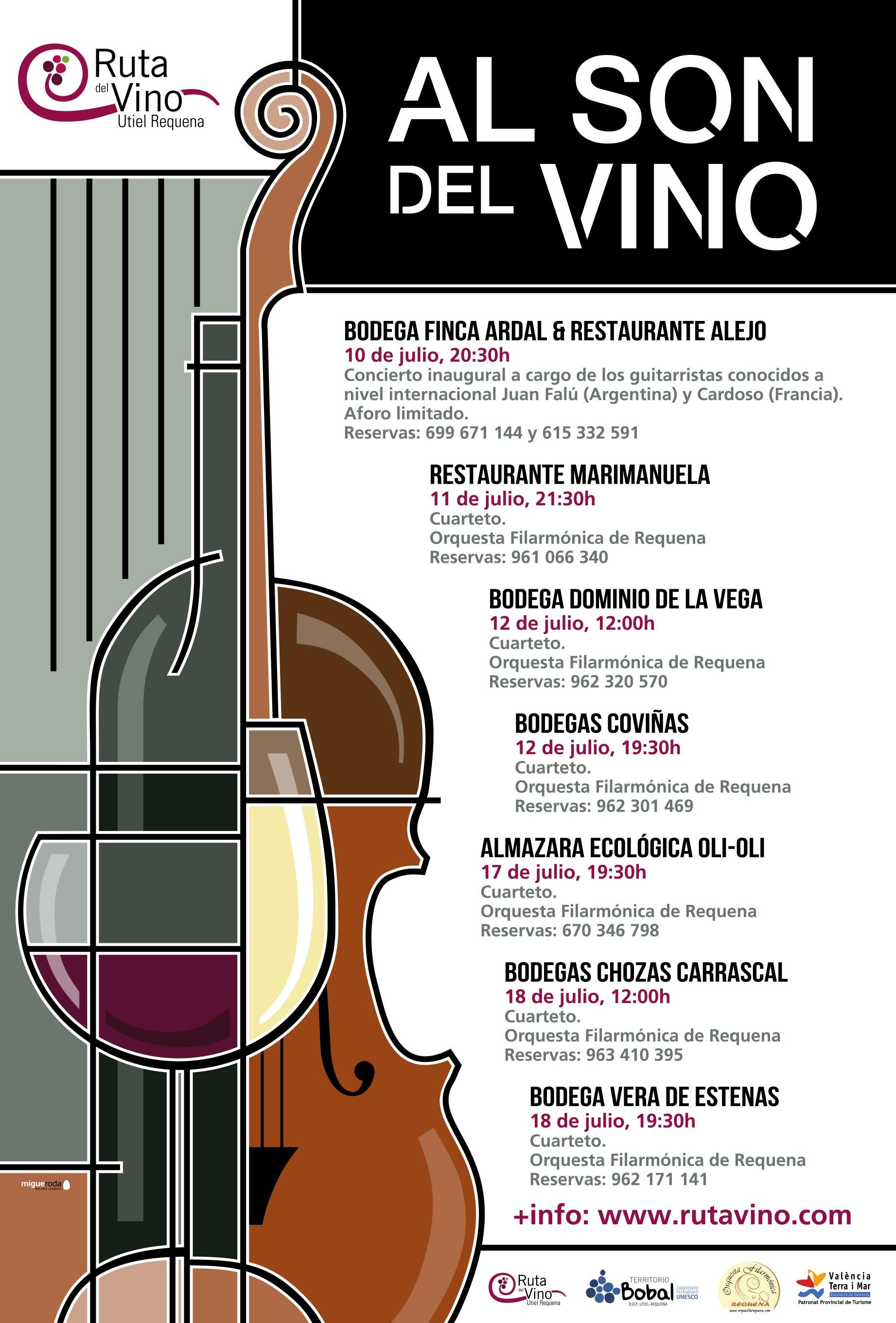 ruta del vino utiel-requena Al son del vino
