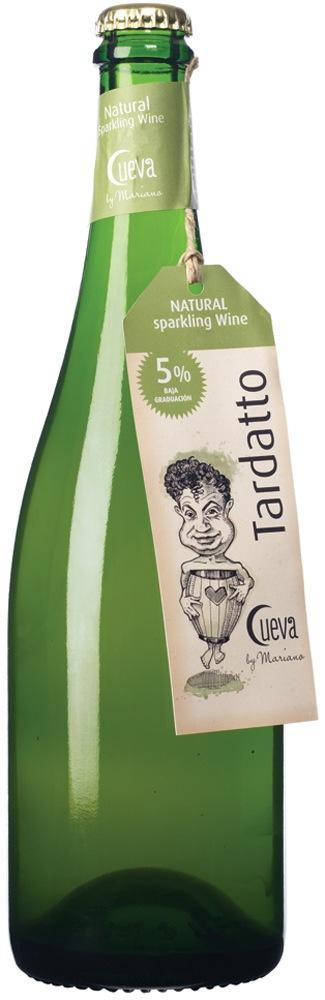 Vino blanco espumoso y artesanal Sandara de Bodegas Cuevas FUENTE: bodegascueva.es