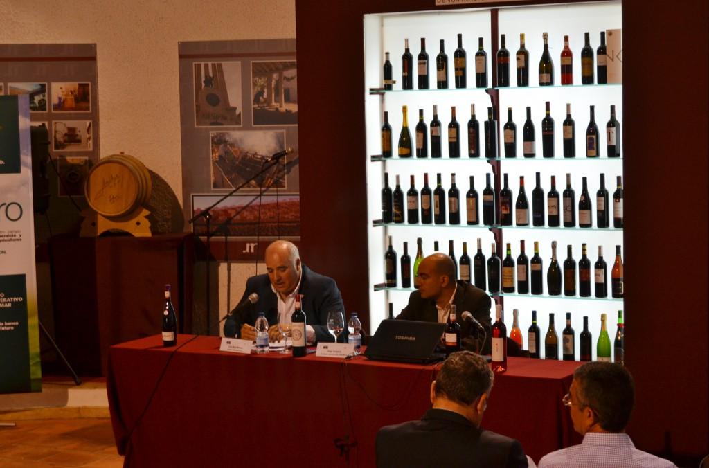 Charla sobre el mercado del vino