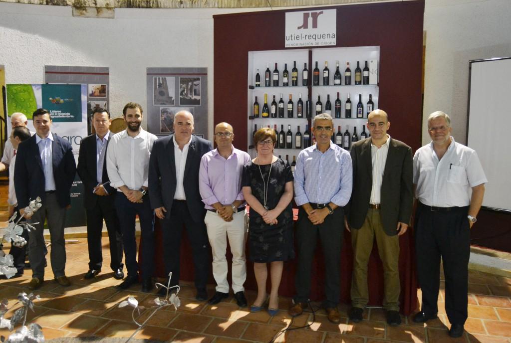 Personalidades en la jornada vitivinicola
