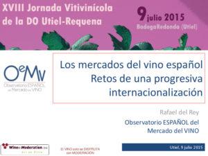 Las XVIII Jornadas Vitivinícolas se centran en el mercado del vino 6