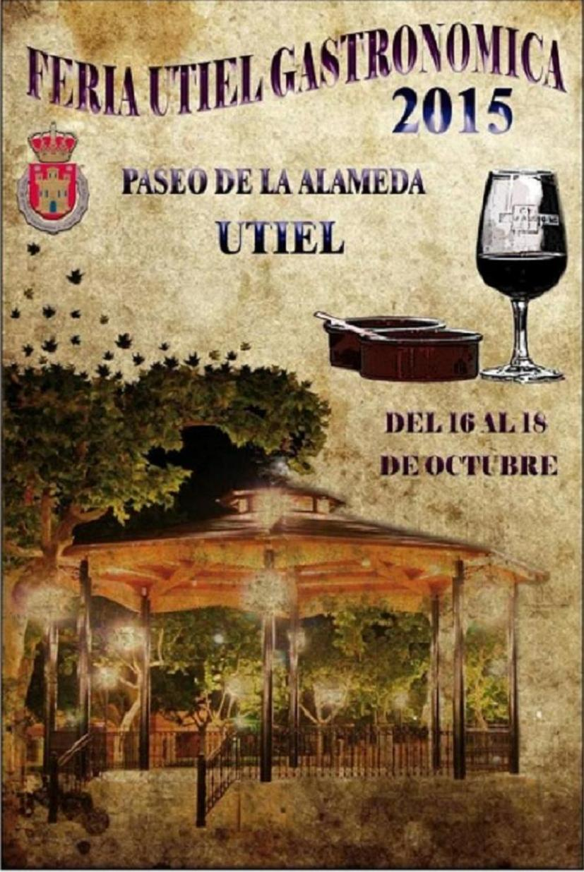 Cartel-ganador-de-la-Feria-Utiel-Gastronómica-2015