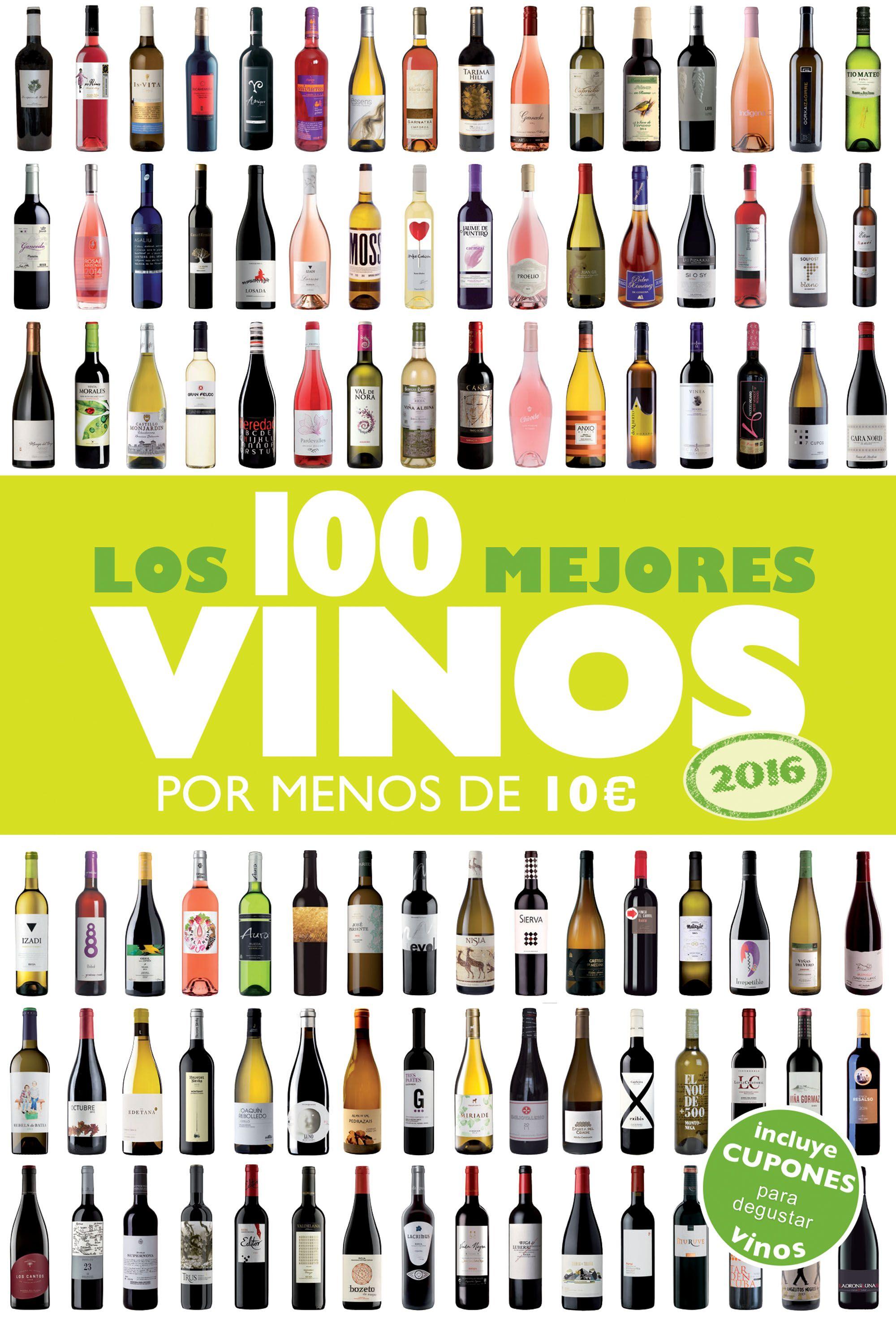 Libro los 100 mejores vinos por menos de diez euros