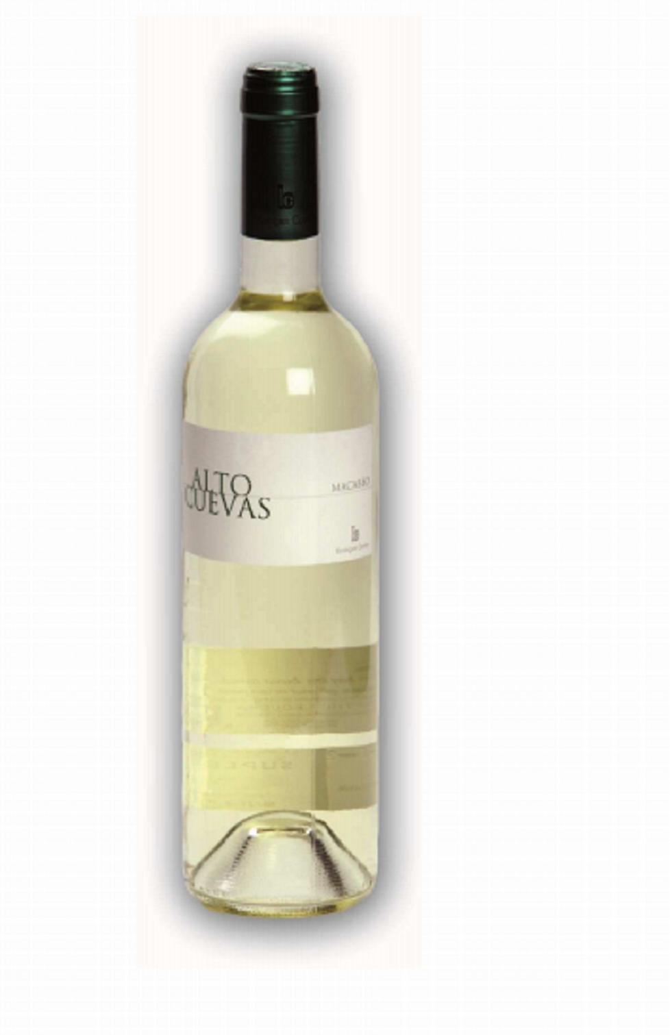 Vino blanco Alto Cuevas