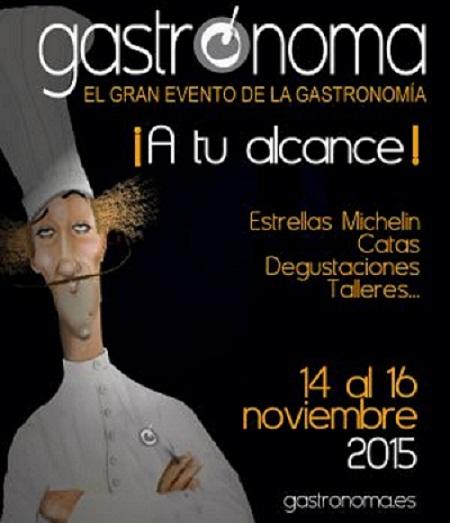 Cartel Gastrónoma vinos