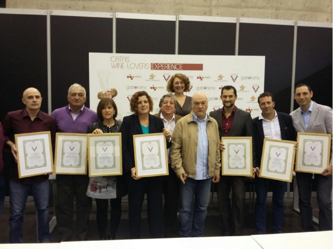 Premios vino AVASU