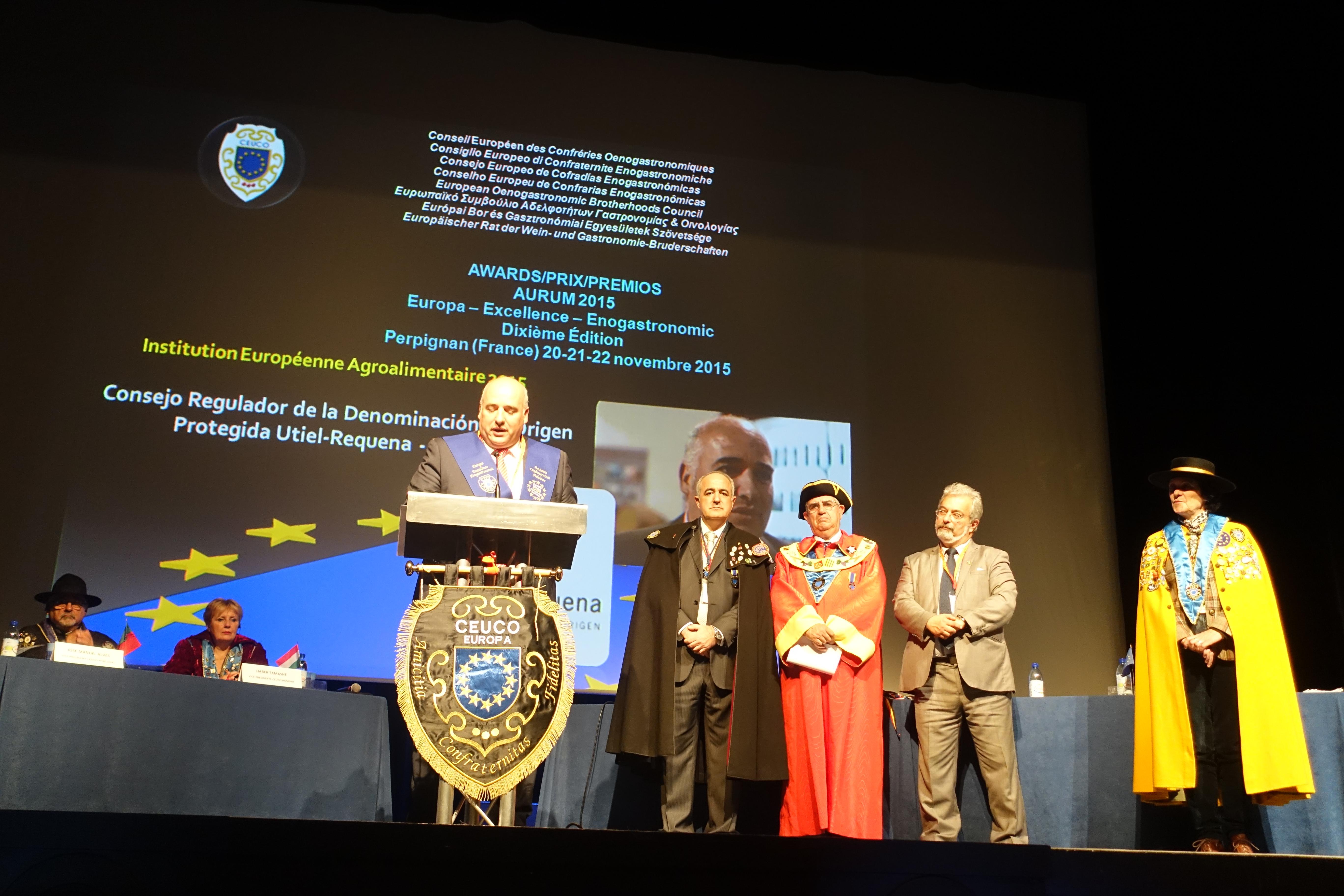 Discurso premios D.O. Utiel Requena
