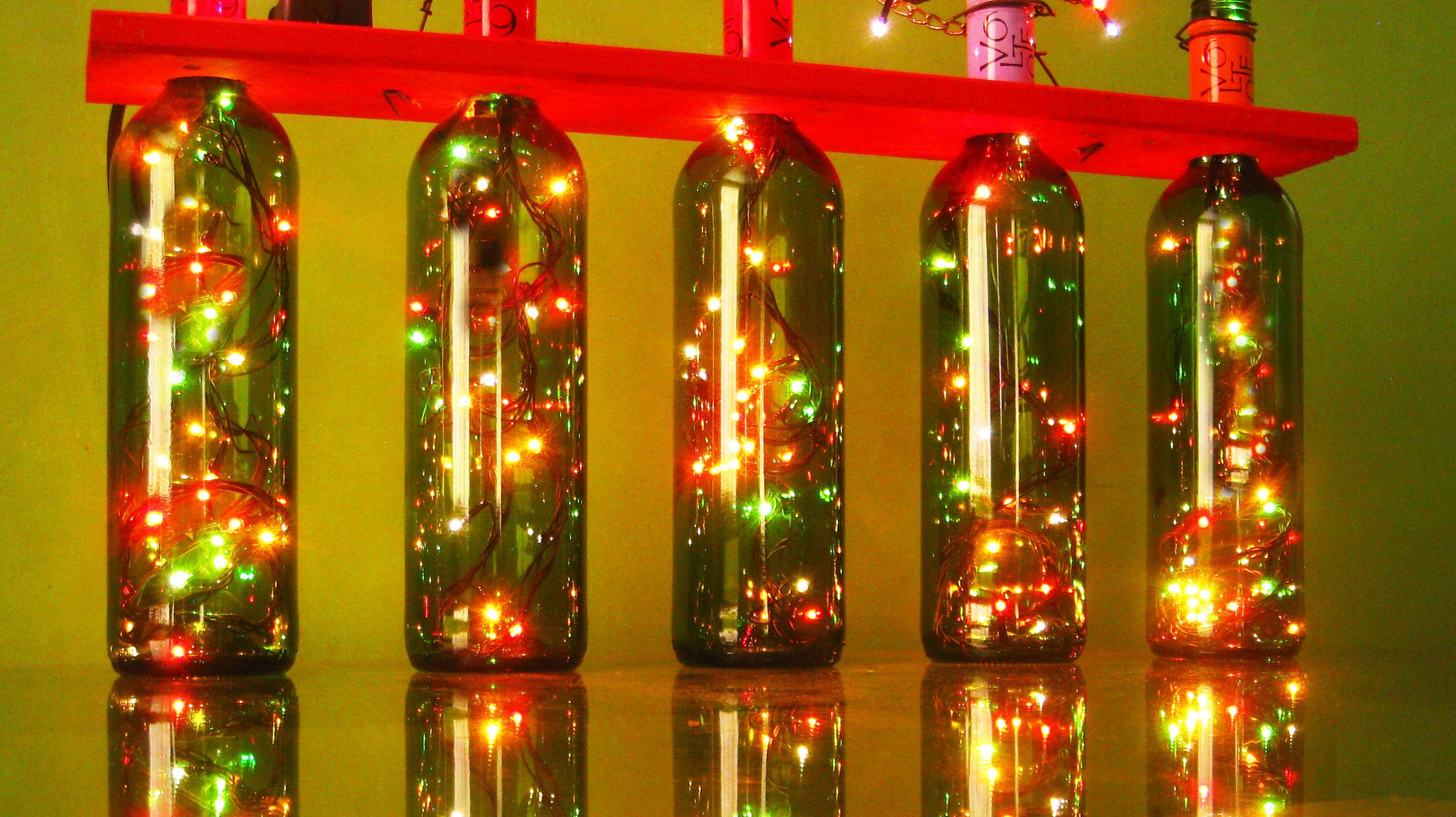 Decoraci n navide a para wine lovers utiel requena - Decoracion luces navidad ...