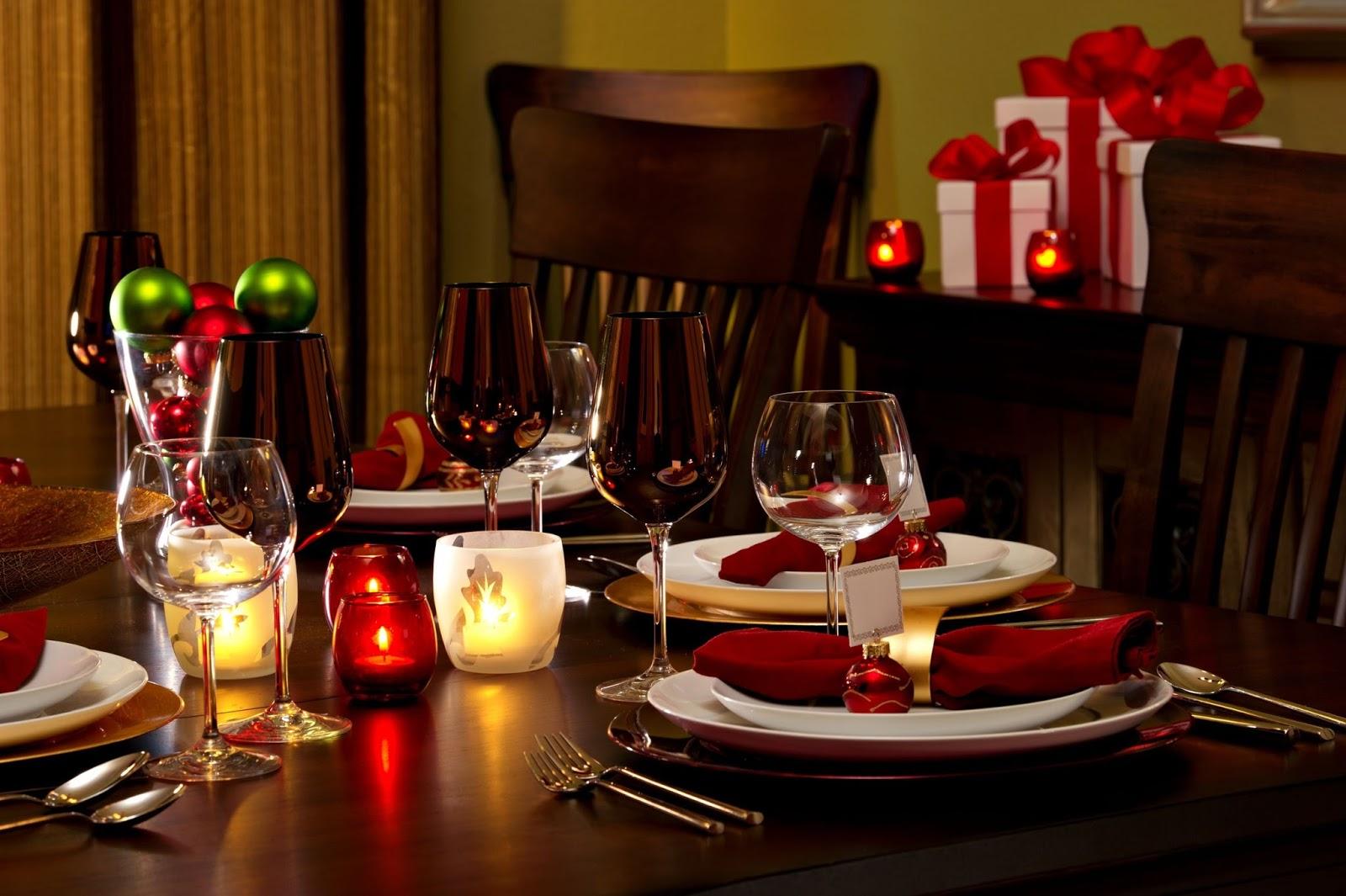 Mesa vinos Navidad