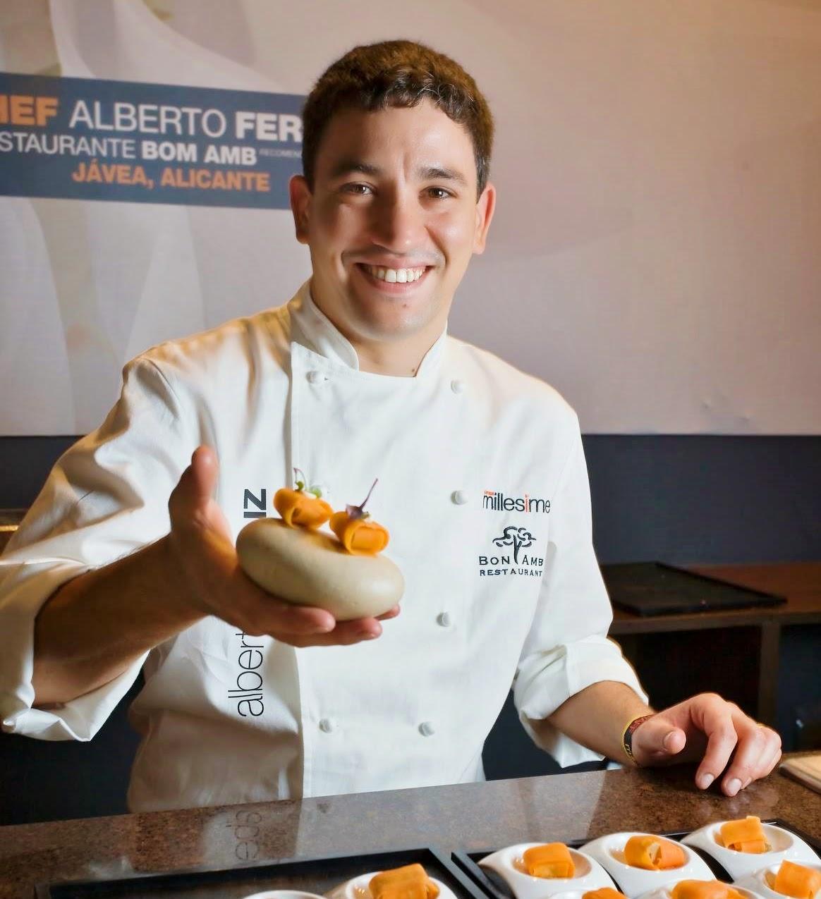 Alberto Ferruz The spanish food