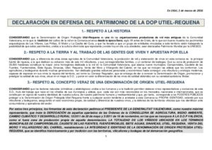 thumbnail of MANIFIESTO EN DEFENSA DE LA  DOP UTIEL-REQUENA copia