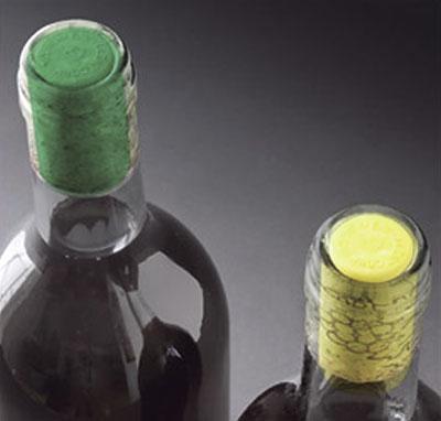 Tipos de corchos de vino