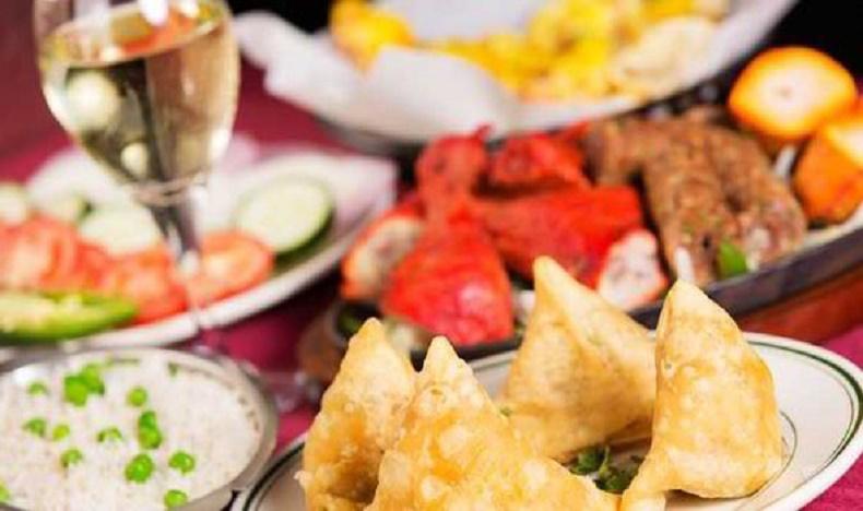 Vino comida oriental