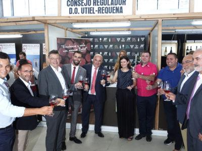 La XXVI Feria Requenense del Vino se celebra este fin se semana