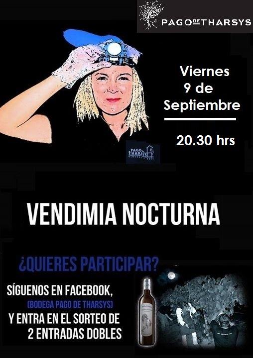 Más de 100 personas participarán en la Vendimia Nocturna 2016 de Pago de Tharsys