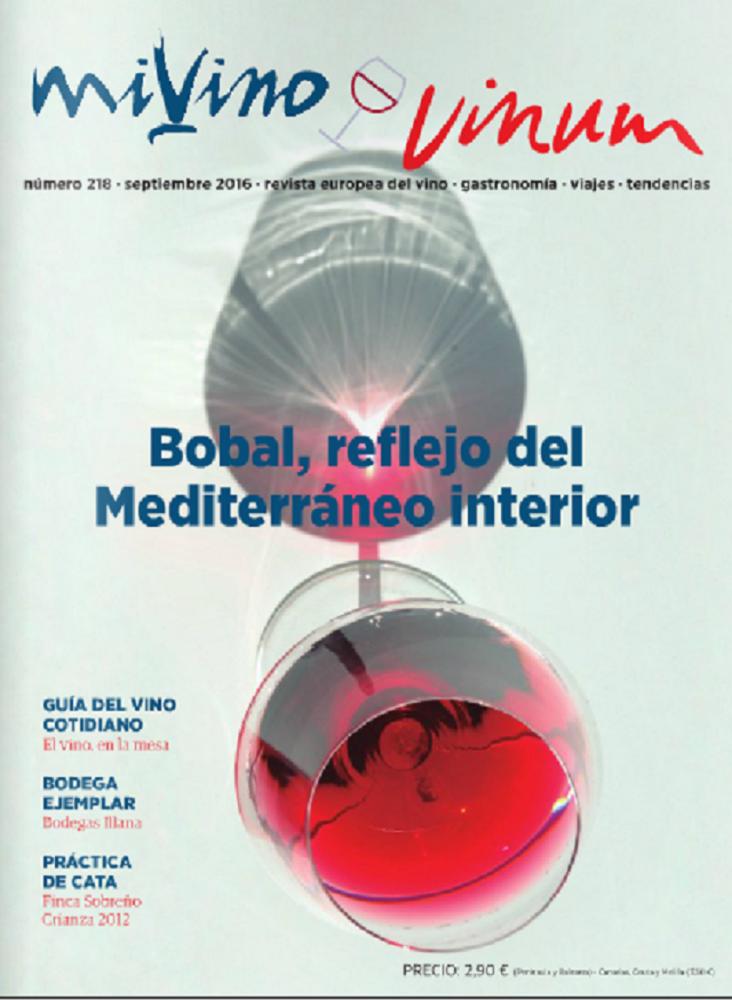 La Bobal, la uva protagonista del mes en la revista MiVino-Vinum