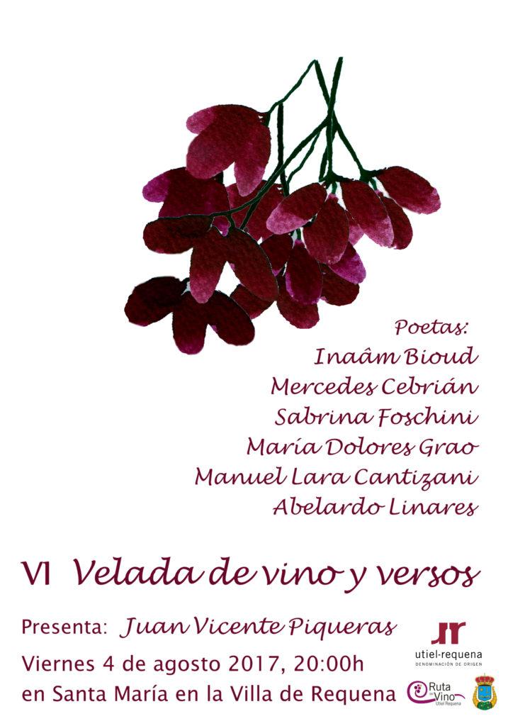 """Poesía y vino se dan la mano en la """"VI Velada de Vino y Versos"""" 0"""