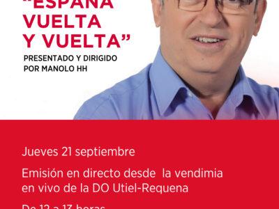 'España Vuelta y Vuelta' RNE1 retransmite la vendimia desde la DO Utiel-Requena