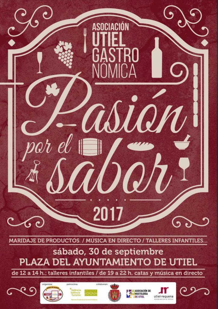 """Los vinos de Utiel – Requena, protagonistas de """"Pasión por el sabor"""" 0"""