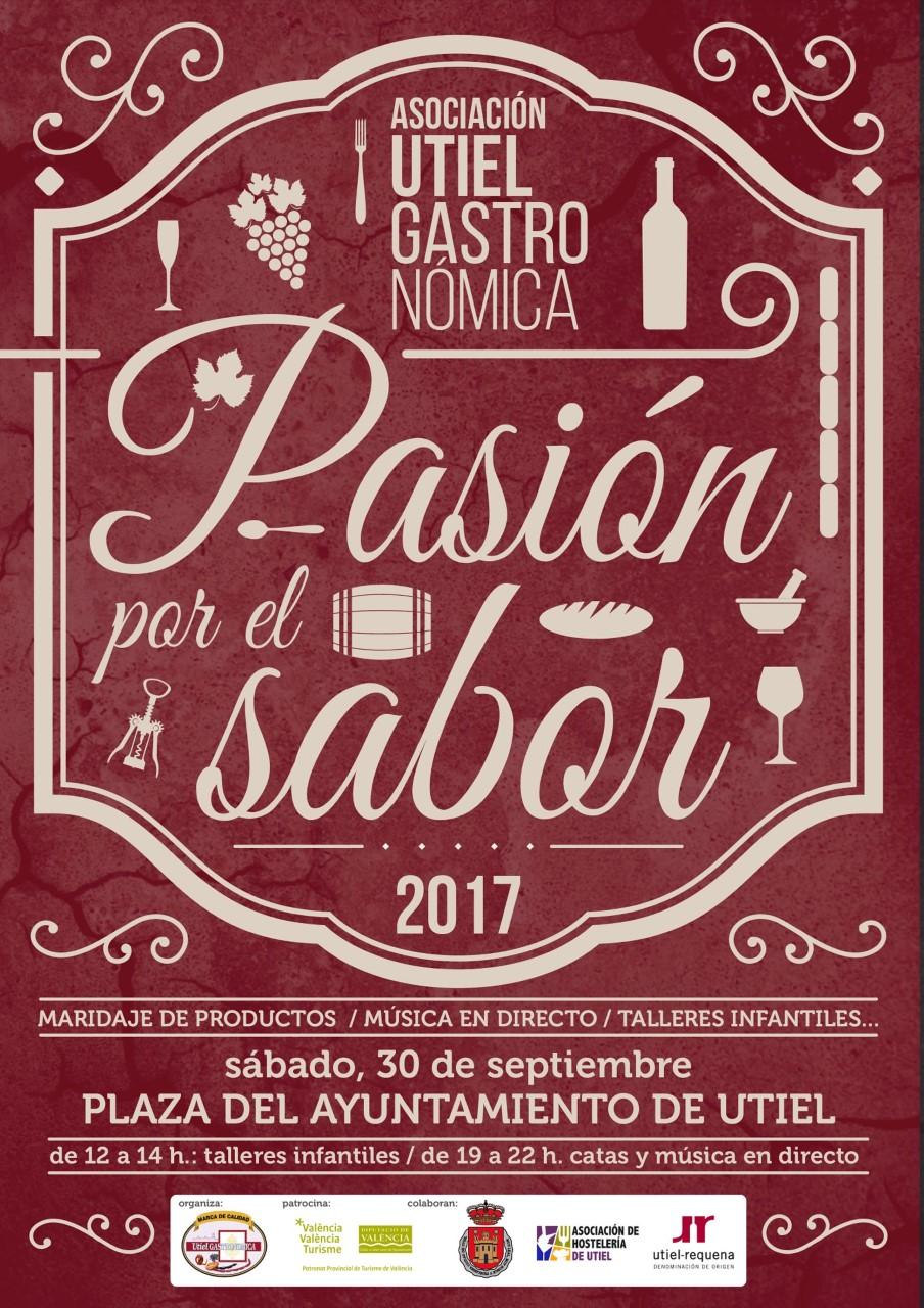 """Los vinos de Utiel – Requena, protagonistas de """"Pasión por el sabor"""""""