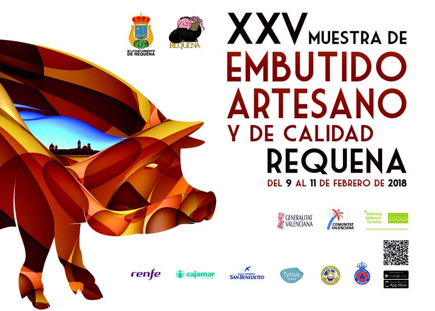 XXV Muestra del Embutido Artesano y de Calidad de Requena Del 9 al 11 de febrero 2018 0