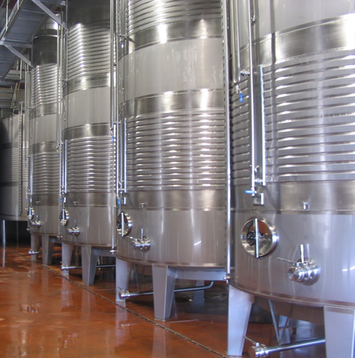 Tipos de depósitos para la fermentación del vino 2