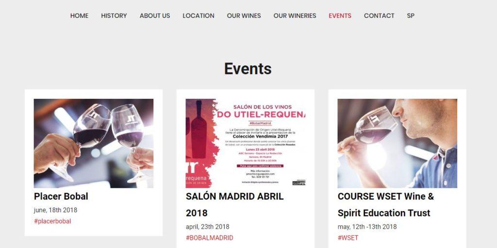 La DO Utiel-Requena refuerza su internacionalización con el relanzamiento de su web en inglés 1