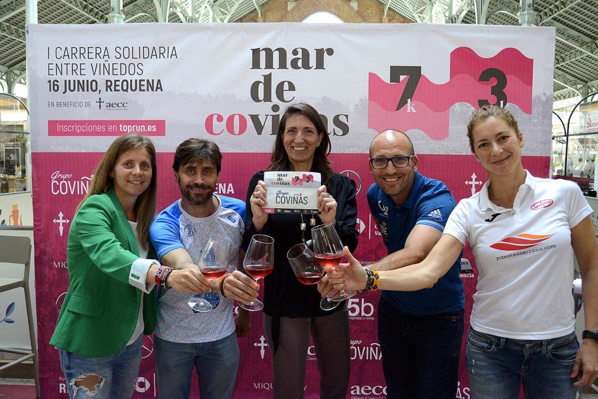 Coviñas organiza 'Mar de Co-Viñas', su I Carrera Solidaria entre viñedos