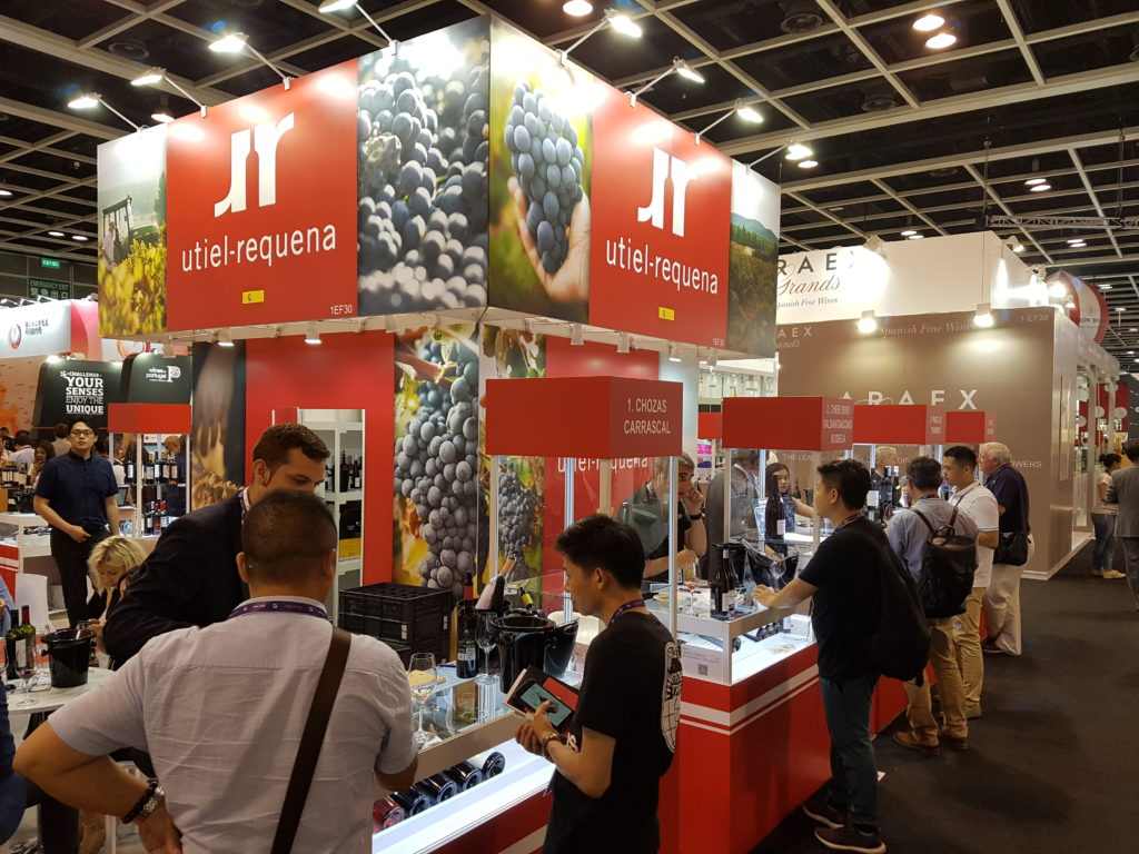 La DO Utiel-Requena participa en la Feria Vinexpo Hong Kong 0