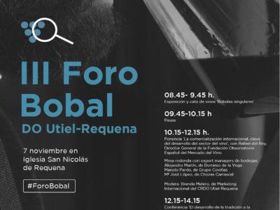 El III Foro DO Utiel-Requena se celebra el 7 de noviembre en la Iglesia San Nicolás