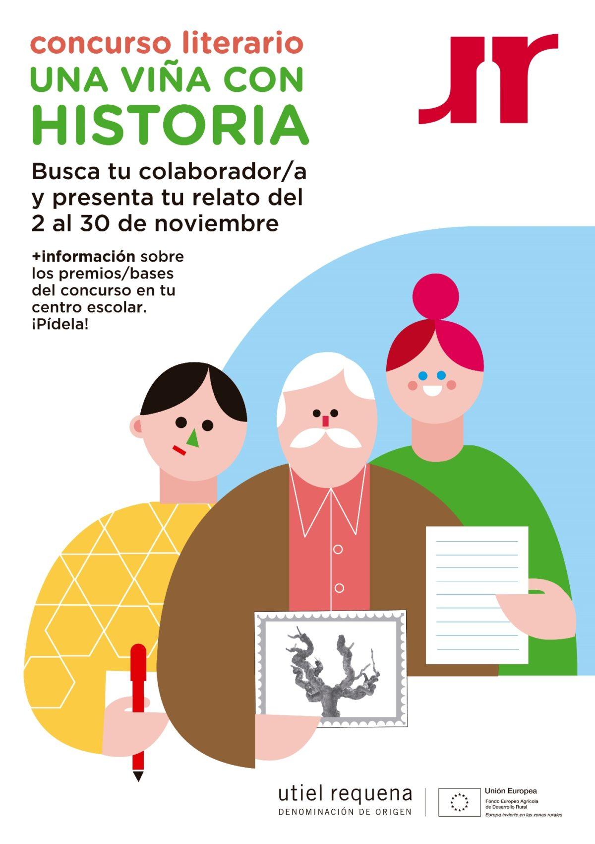 """La DO Utiel-Requena lanza el concurso escolar """"Una viña con Historia"""""""