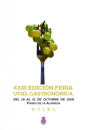 Vuelve la XXIII Edición de Feria Utiel Gastronómica del 19 al 21 de octubre