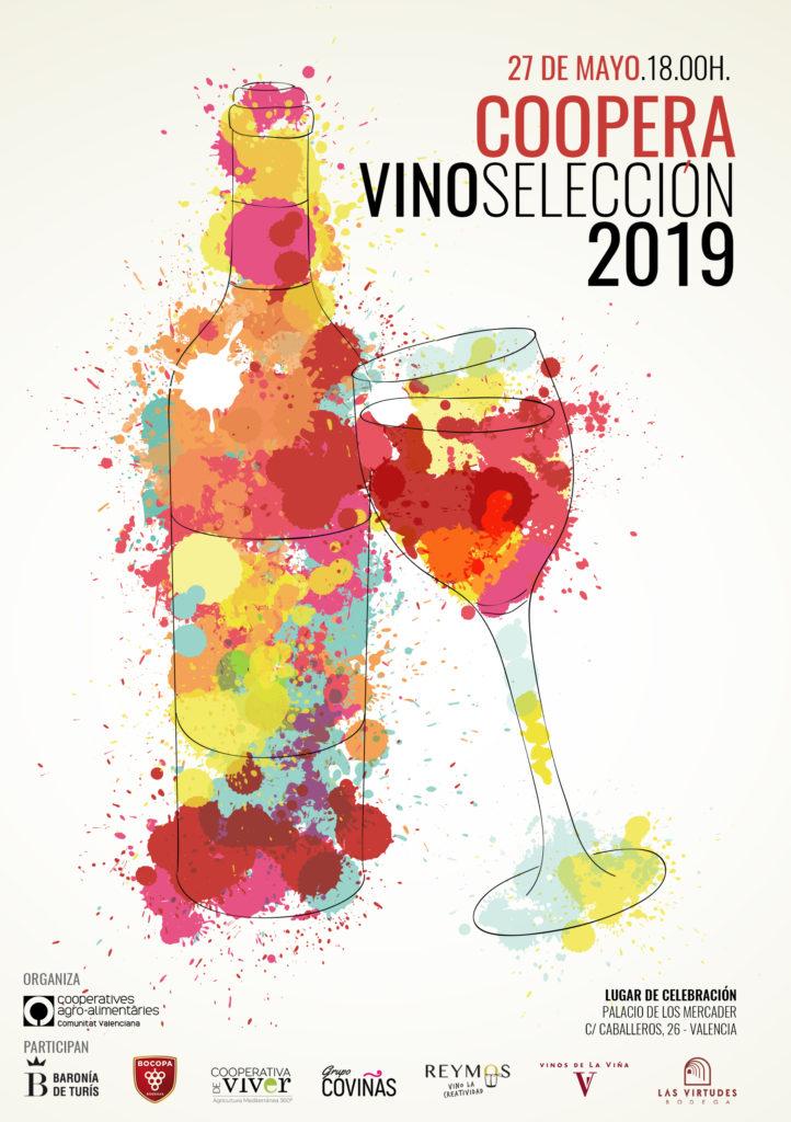 Coopera VinosSelección 2019 se celebra el lunes 27 de mayo por la tarde 0