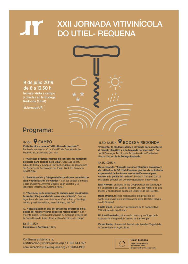 Vuelve la Jornada Vitivinícola DO  Utiel-Requena 0