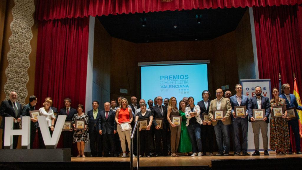 La FEHV entrega los premios de la  hostelería valenciana 2019 0