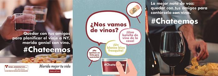 #Chateemos sin necesidad de pantallas, la nueva campaña de OIV