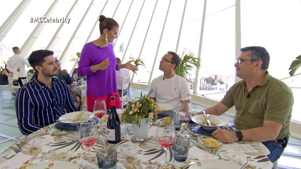 Los vinos de Utiel-Requena aparecen en MasterChef Celebrity el Día de la Comunidad Valenciana 3
