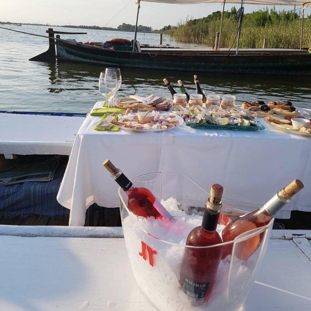 Nuestros vinos en Albufera al Plat 0
