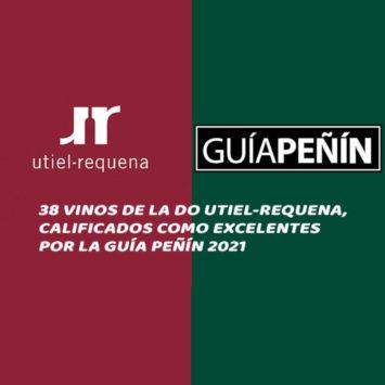 38 vinos de la DO Utiel-Requena, calificados como excelentes por la Guía Peñín 2021