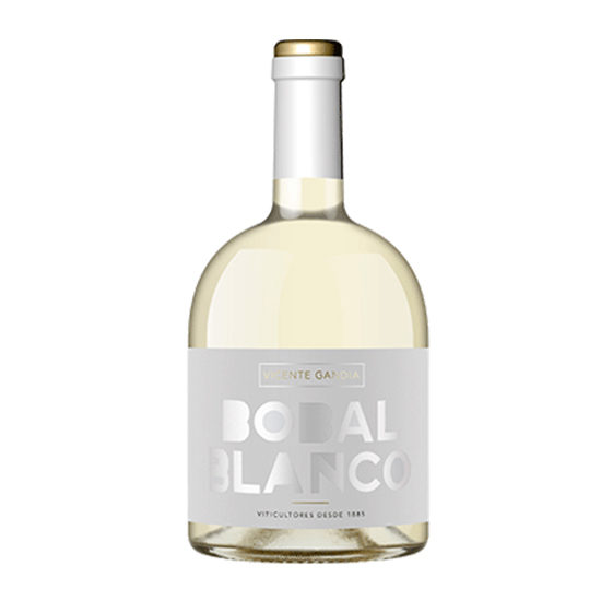 Botella de vino blanco Bobal Blanco